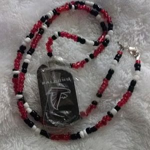 Other - ATLANTA FALCONS Dog Tag Necklace